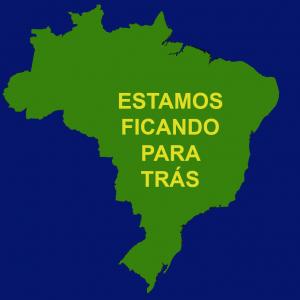 O Brasil está ficando para trás