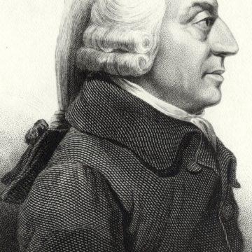 TOP 20 – Maiores economistas de todos os tempos. 1º lugar: Adam Smith (1723-1790)
