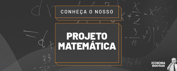 Projeto Matemática – Apresentação