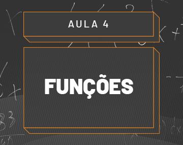 Aula 04 – Funções