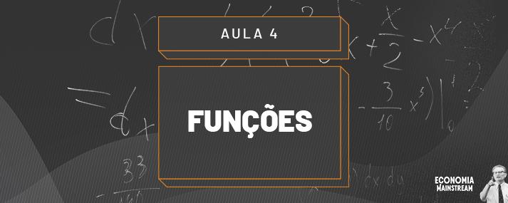Aula 04 - Funções